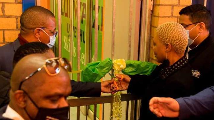 Minister Lindiwe Zulu opens skills development centre in Nyanga