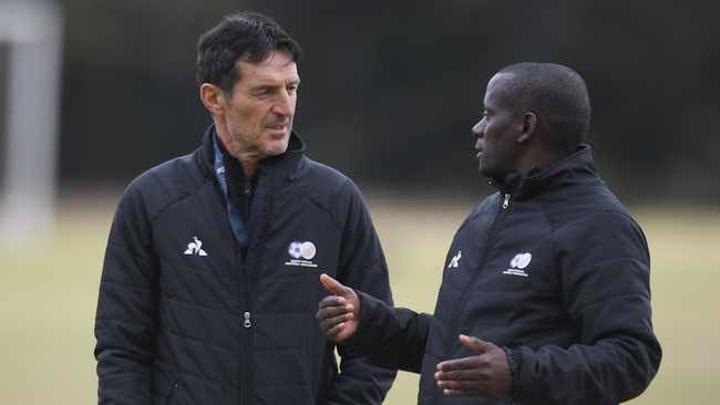 Helman Mkhalele to take charge of Bafana's match against Uganda after Cedomir Janevski tests positive for Covid-19