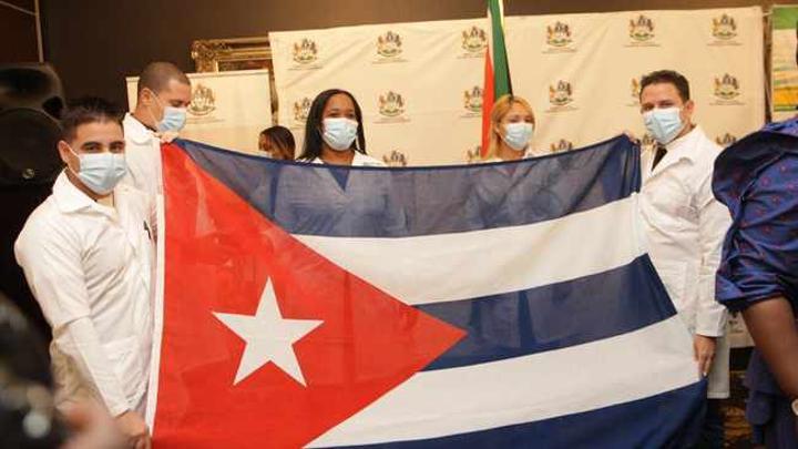 R32m spent on Cuban doctors fighting Covid-19 in Gauteng