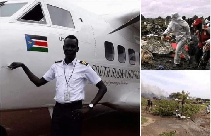 Plane crash in Uror County of Jonglei State kills 10 people on board