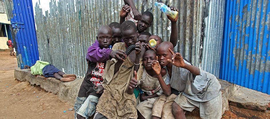 The heart-breaking misery of street children in South Sudan