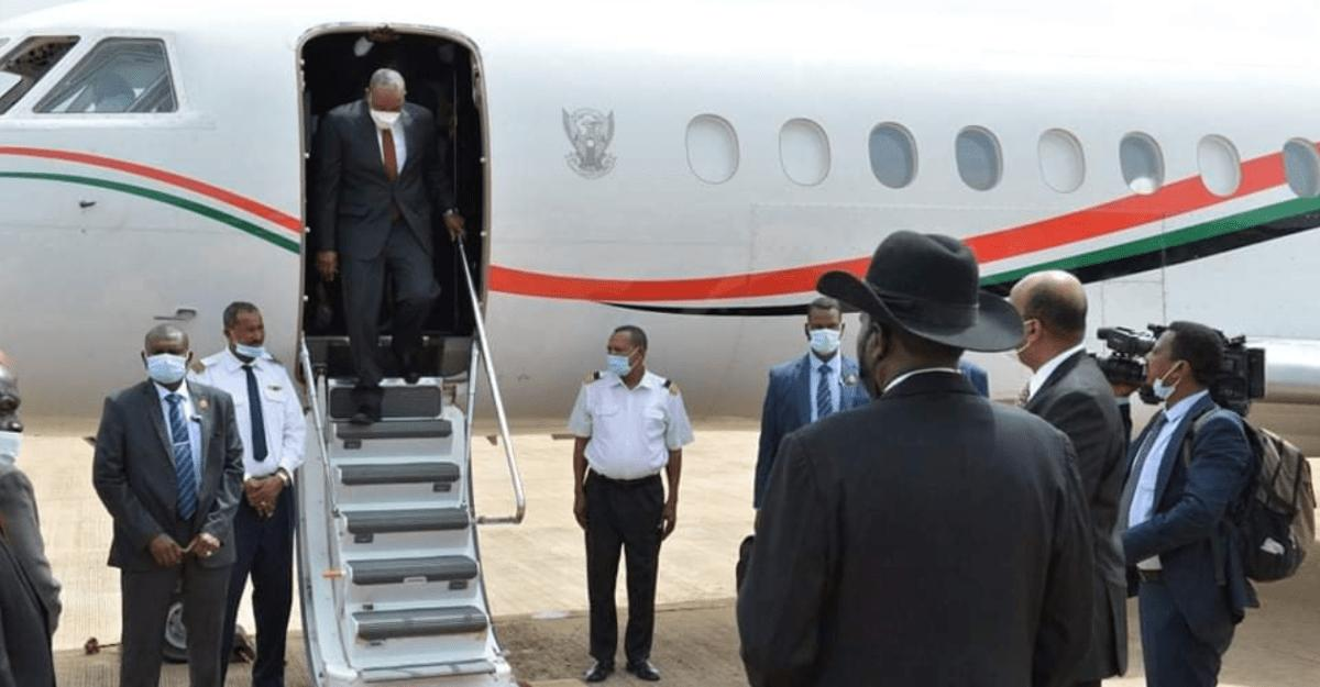 Sudan's al Buhran arrives in Juba for peace talks with holdout oppositions