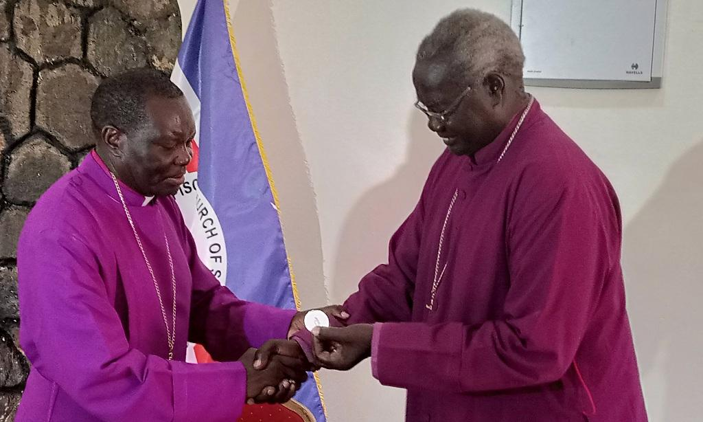 South Sudan's retired Archbishop Deng Bul receives award for peace efforts