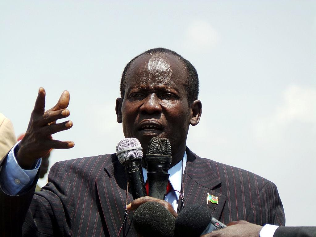 VP Igga told to 'confront' Kiir for being 'the biggest supporter of corruption'