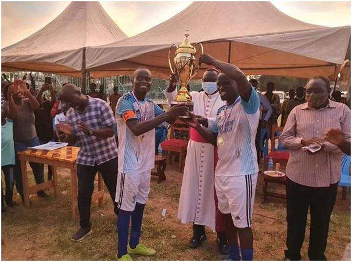 Holy Rosary wins inter church games