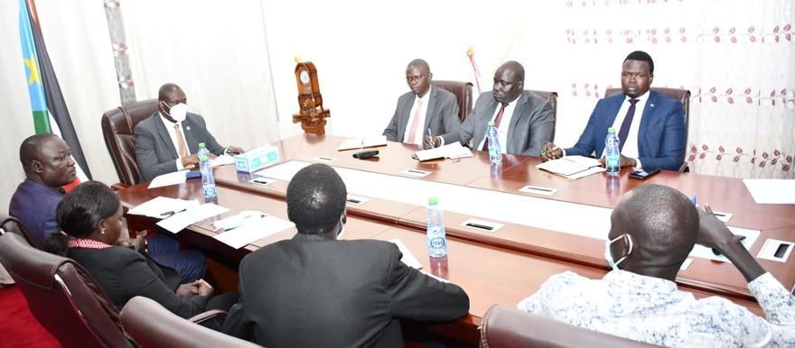 FVP Machar meets UJOSS leadership