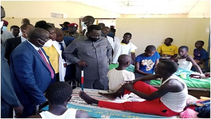 Gov't promises to care for affected school children in IBBA