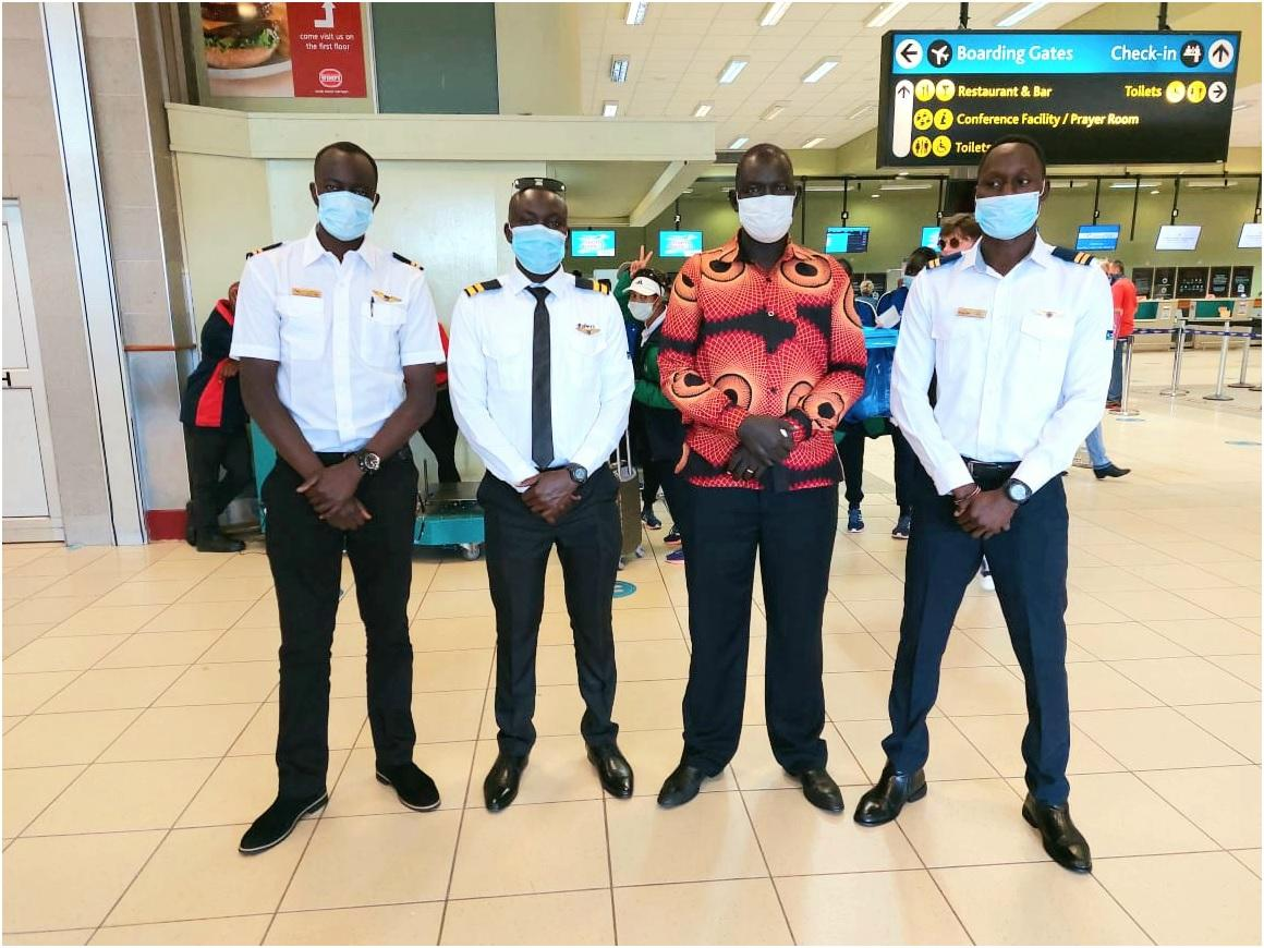 South Sudanese Aviation Students in South Africa Urge Parents to Support Youths' Activities