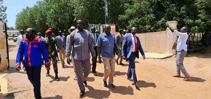 National ministers conduct floods impact assessment in Unity State