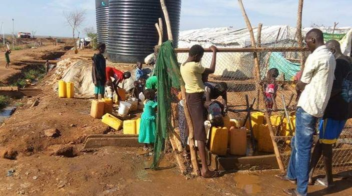 IDPs in Juba blame UNMISS for lack of clean drinking water and poor hygiene and sanitation in the POCs.