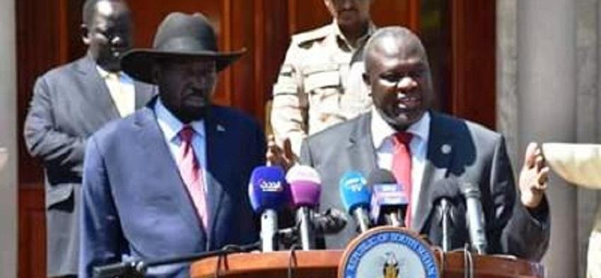 Kiir, Machar to finally graduate unified forces during first week of November