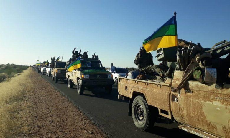 قوات عسكرية تتبع لحركة مناوي تصل مدينة الفاشر