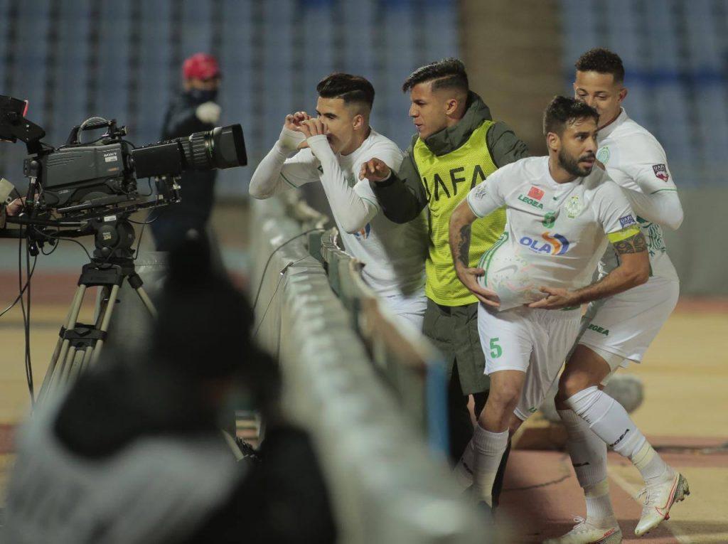 الرجاء البيضاوي يصعد إلى نهائي كأس محمد السادس للأندية الأبطال
