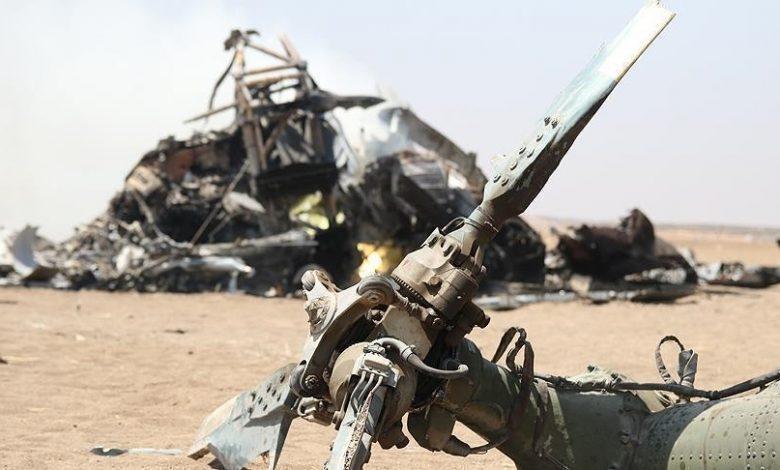 الكشف عن مصير طاقم المروحية العسكرية التي تحطمت على الحدود مع إثيوبيا