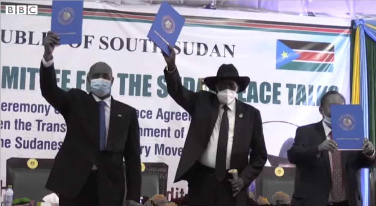 حركة موقعة علي اتفاق جوبا تستعجل تنفيذ الترتيبات الأمنية