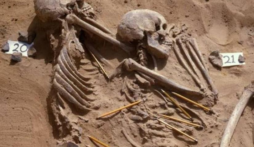 مقبرة في السودان تكشف جحيم الحرب منذ 13 ألفعام