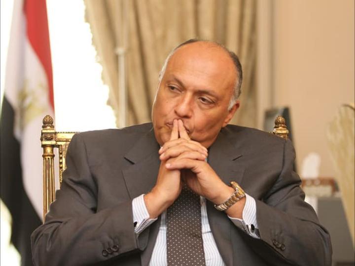 وزيرا الخارجية والري المصريان يزوران الخرطوم لبحث تطورات ملف سد النهضة