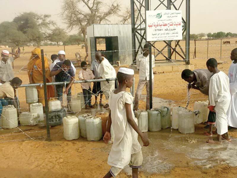 أزمة مياه حادة تضرب كوستي