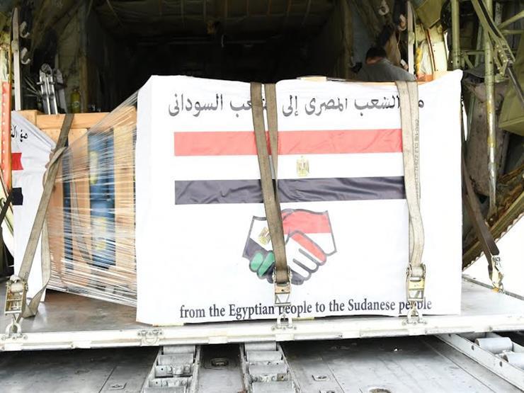 مصر ترسل 3 طائرات عسكرية في ختام جسر المساعدات الإنسانية العاجلة للأشقاء السودانيين