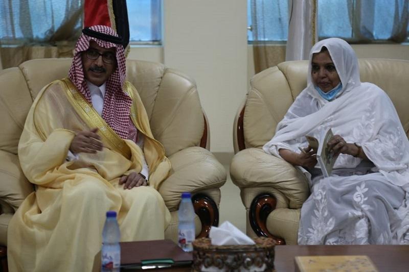 بحث تعزيز التعاون بين الجامعات السودانية والسعودية