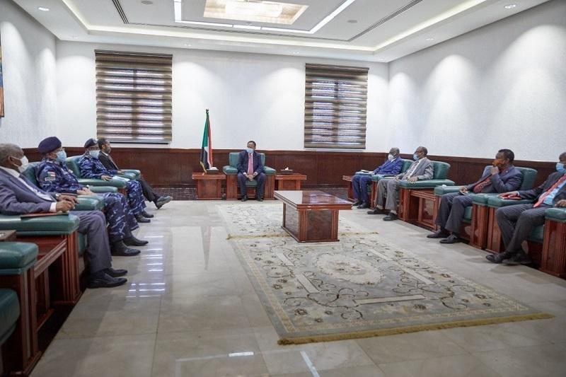 حمدوك يعقد اجتماع لمتابعة الوضع الأمني