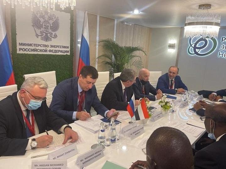 وزير الطاقة يدعو الشركات الروسية للاستثمار في مجال الكهرباء والنفط بالسودان