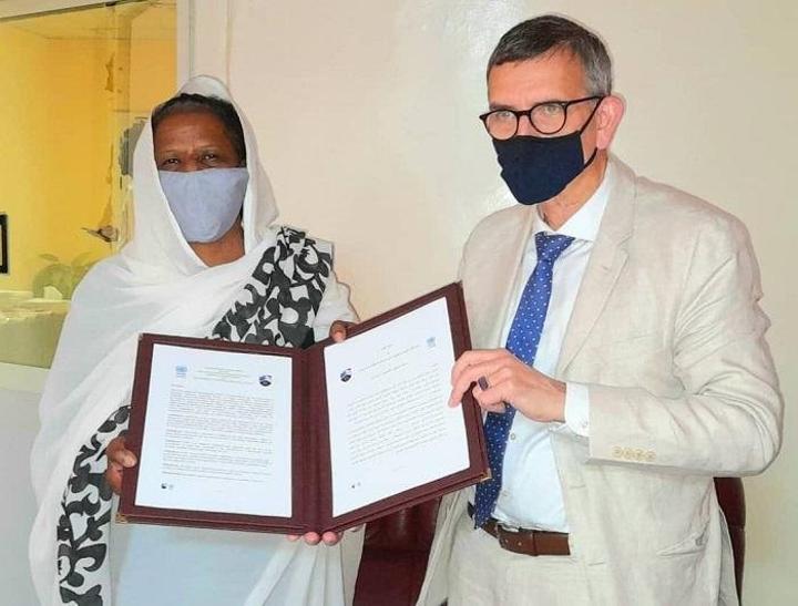 توقيع مذكرة تفاهم بين جامعة الخرطوم ويونيتامس