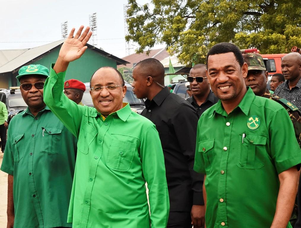 Mwinyi recalls tough first six months in power
