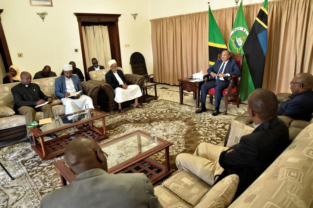 Clerics commend Mwinyi's regime