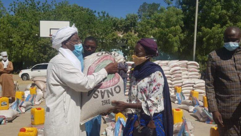 Tchad-covid19 : la sous-commission assistance vient en appui à 35 000 personnes