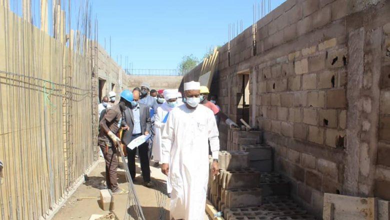 Tchad : le pavillon d'urgence de l'HGRN lui donnera un nouveau visage