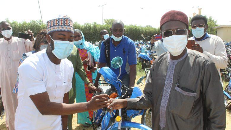 Tchad : 300 motos ont été offertes à trois délégations sanitaires
