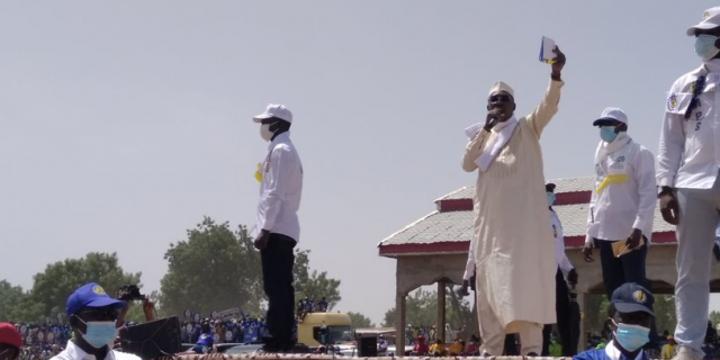 Présidentielle au Tchad : Idriss Déby Itno à la recherche du «coup uppercut»