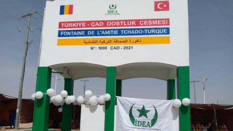 Tchad : la fontaine tchado-turque d'Abéché a été livrée