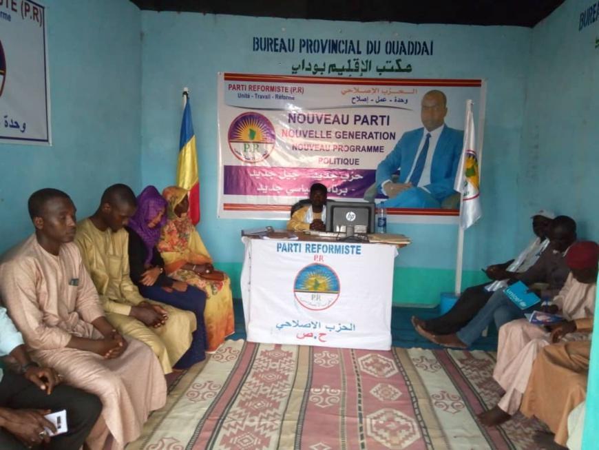 le Parti Réformiste mobilise les militants au Ouaddaï