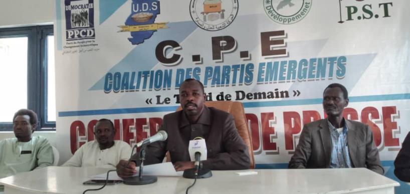la Coalition des partis émergents dénonce son rejet du comité ad hoc pour le CNT