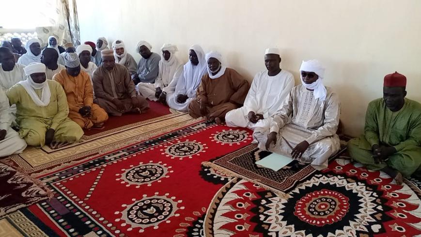 le nouveau sultan de Dar Sila a rencontré les chefs traditionnels