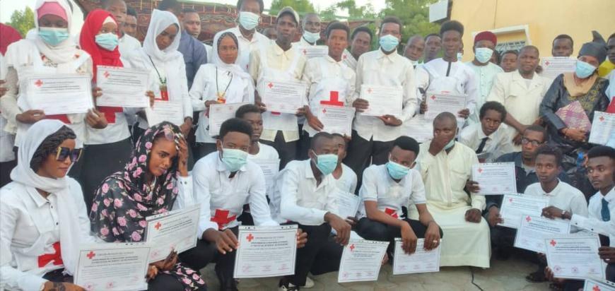 50 jeunes reçoivent leur brevet d'équipiers brigadiers de la Croix-Rouge