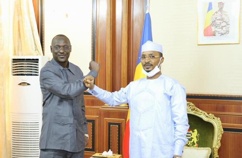 Baba Ladé reçu à la Présidence
