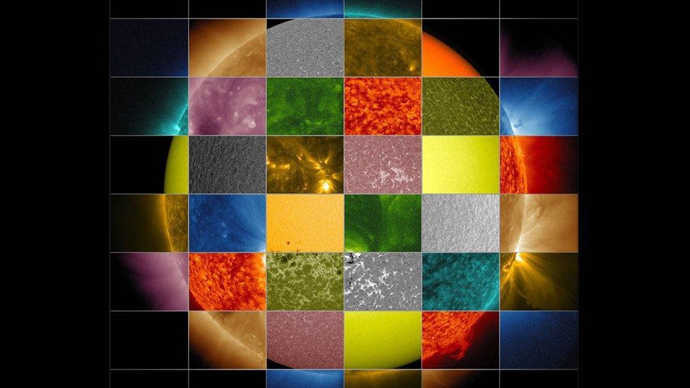 Ni orange, ni jaune, ni rouge: voici la vraie couleur du Soleil