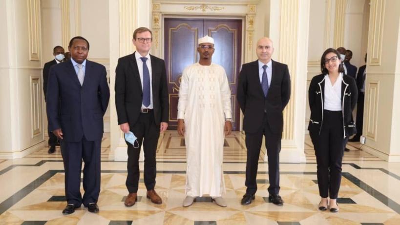 une délégation du FMI reçue à la Présidence
