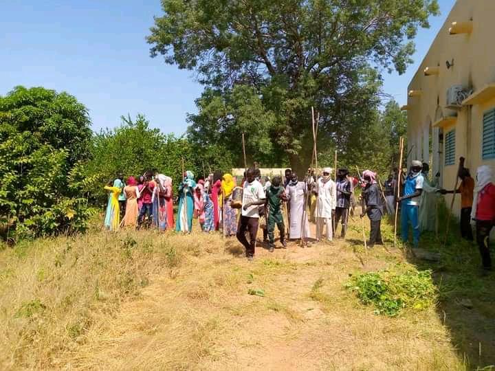 une journée citoyenne d'assainissement au gouvernorat de Mongo