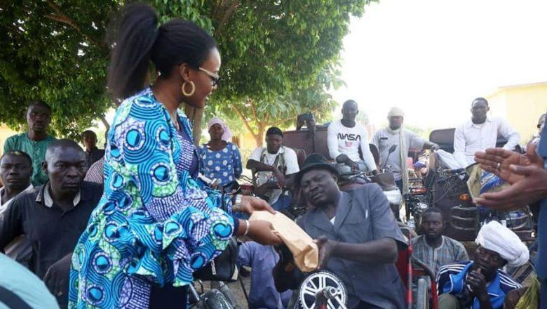 Tchad : le ministre de la Femme paye le loyer de 52 personnes handicapées