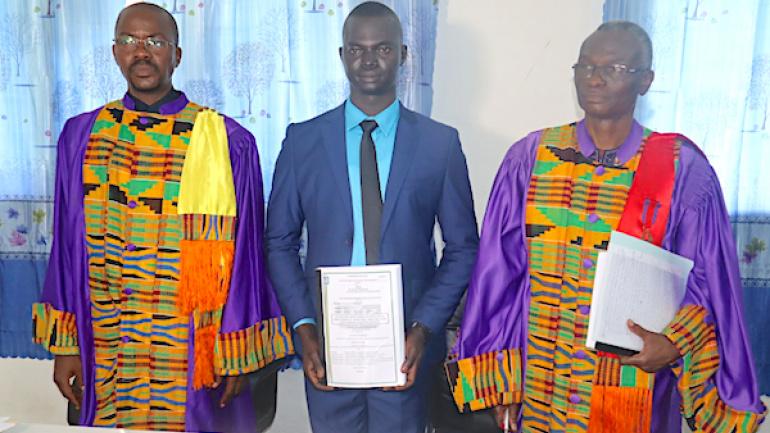 L'Université de Kara décerne son premier grade de doctorat