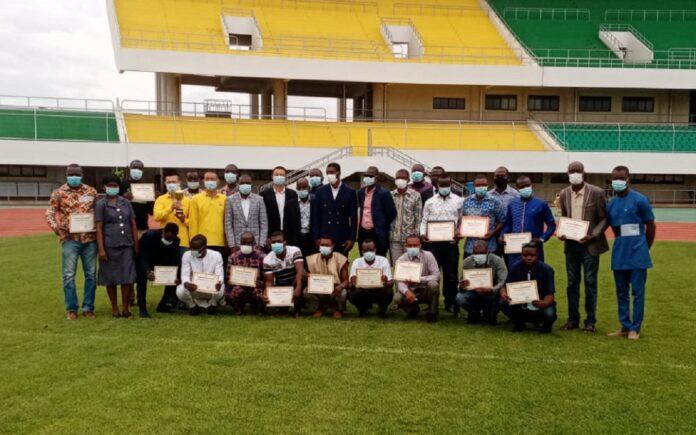 Les Togo reprend la gestion du stade de Kégué