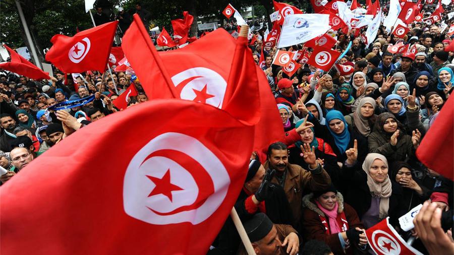 تونس تحتفل بالذكرى التاسعة للثورة