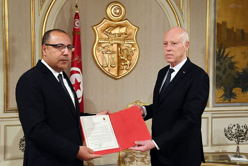 قيس سعيد يكلف وزير الداخلية هشام مشيشي بتشكيل الحكومة
