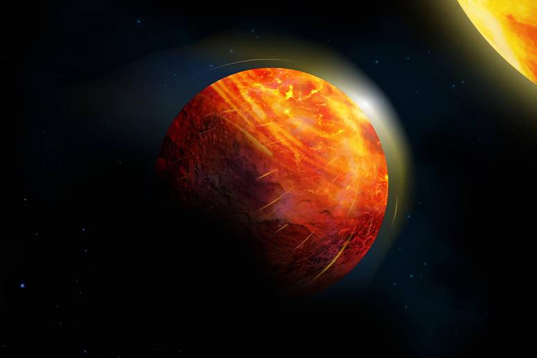 اكتشاف كوكب الجحيم
