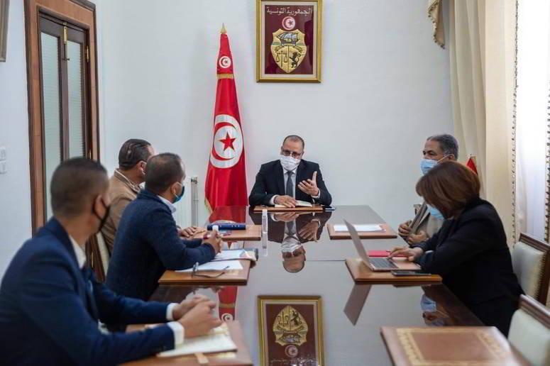 رئيس الحكومة يستقبل وفدا عن الاتحاد التونسي للإعلام الجمعياتي