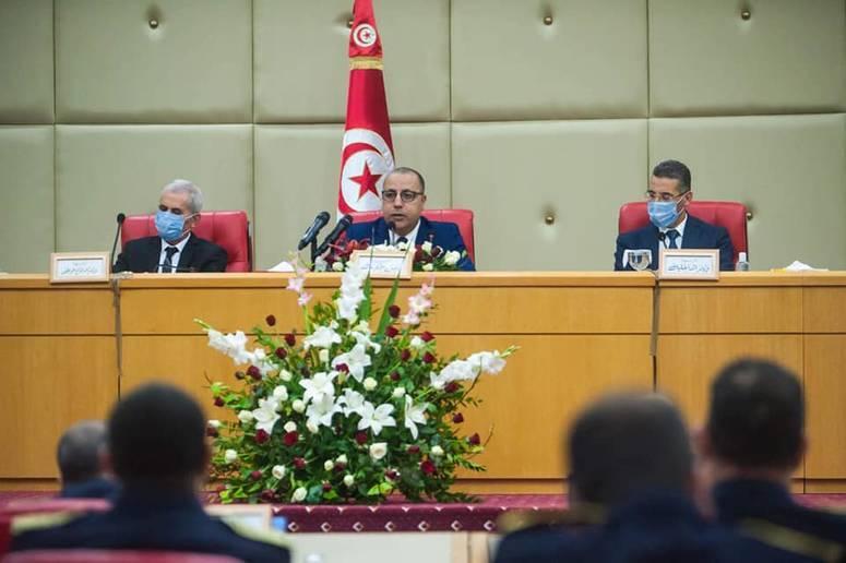 هشام مشيشي: الوضع الصحي مازال خطيرا في ظل استمرار ارتفاع مؤشرات الاصابات بفيروس كورونا المستجد